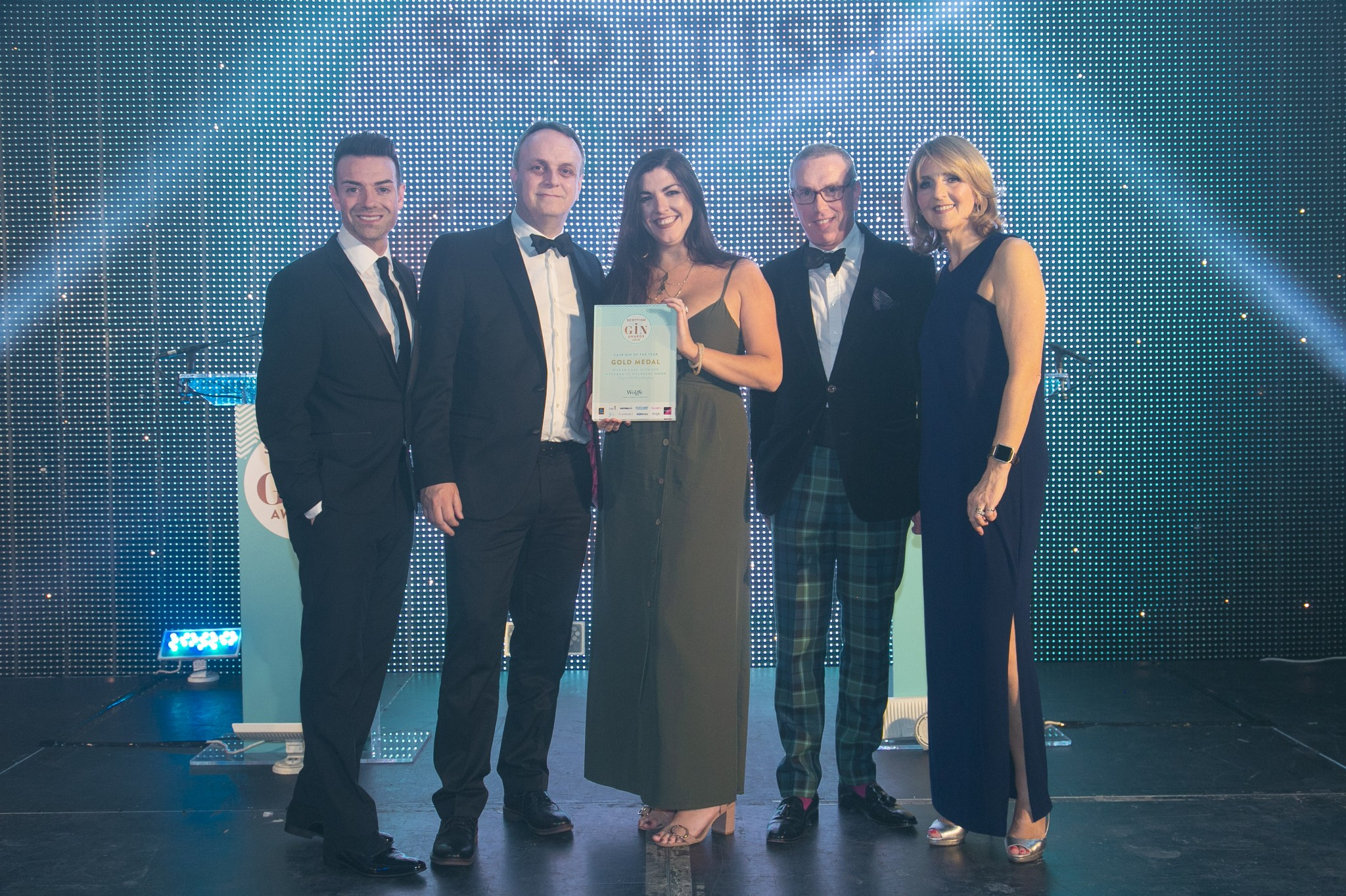 Glasgow Distillery's Makar Mulberry Aged Gin Named Cask Gin Of The Year photo