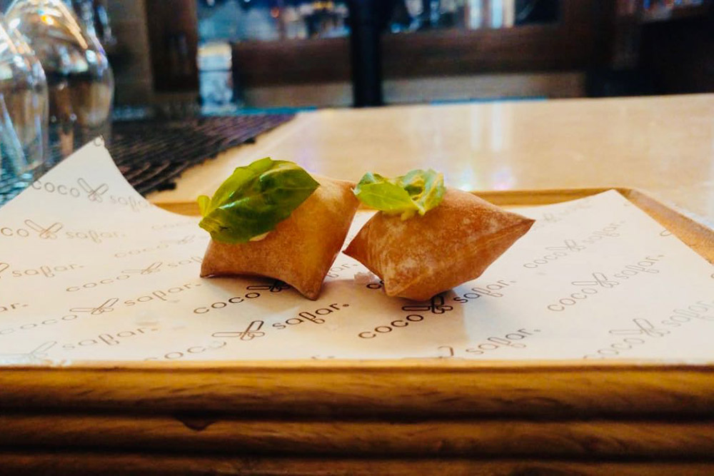 """Coco Safar's New Prix Fixe Dinner Experience Takes Guests On A """"luxury Journey"""" photo"""
