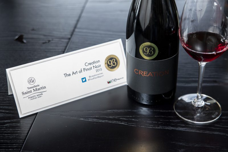 Creation The Art of Pinot Noir 2015 overall winner in Winemag.co .za Pinot Noir Report e1537356186371 Winemag announce top scoring Pinot Noirs in South Africa
