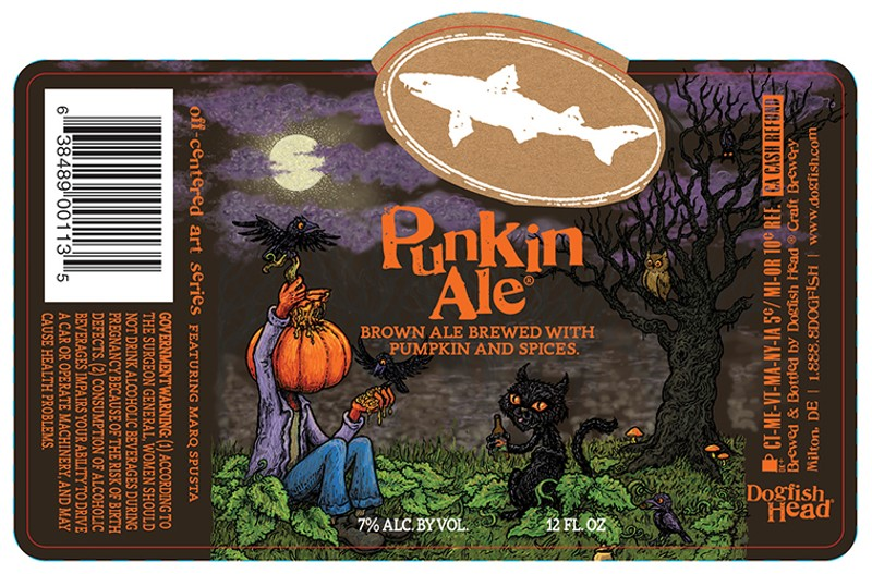 Beer Pick: Fall Is The Time For Dogfish Head Punkin Ale 2018 photo