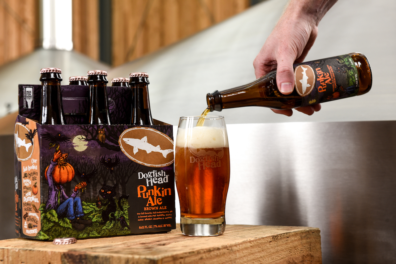 Dogfish Head Punkin Ale Returns For The 22nd Year photo