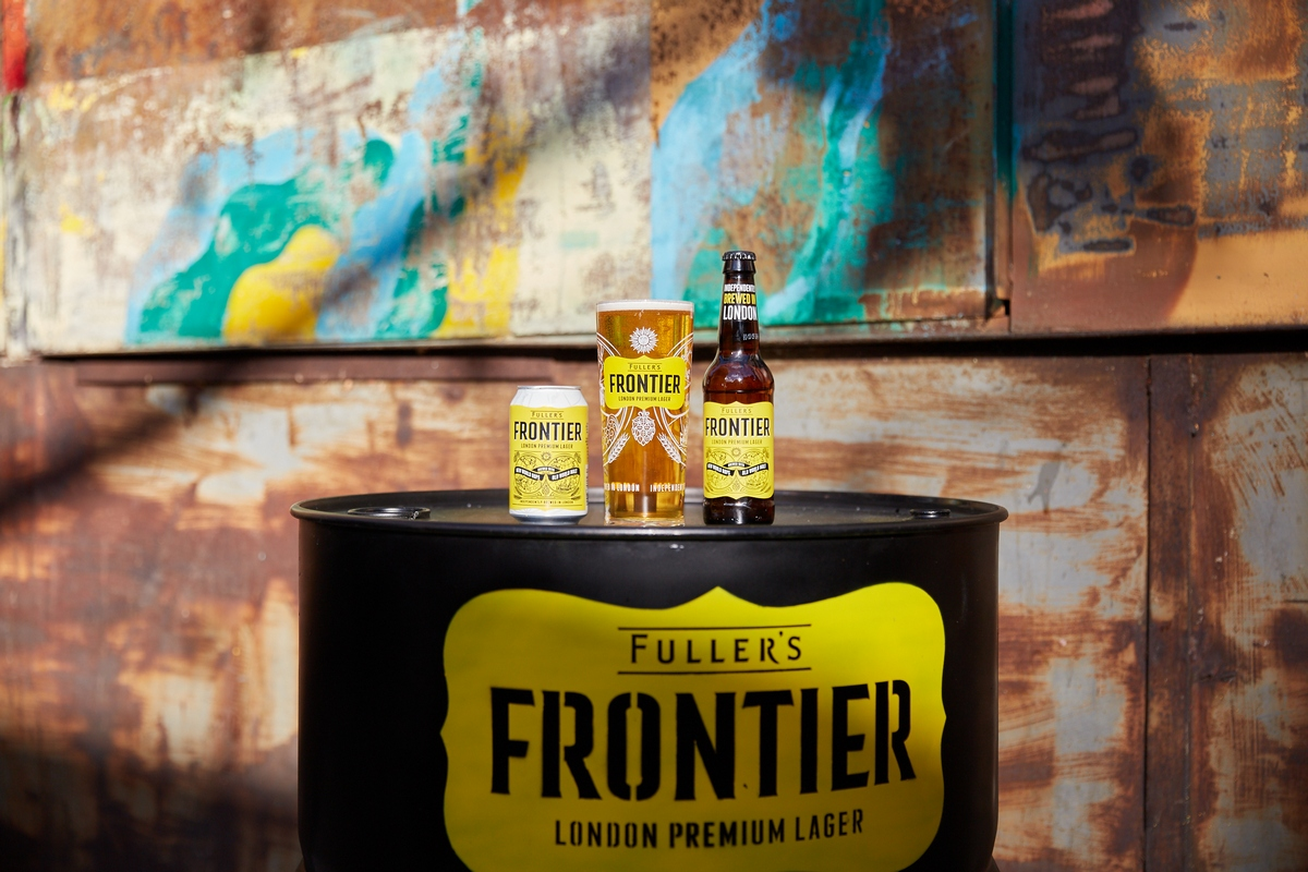 Campaign Promotes New-look Fuller's Frontier Lager ? Beer Today photo