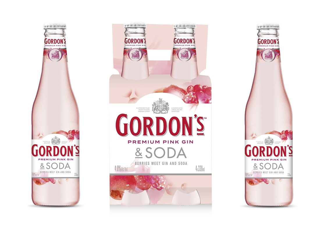 Diageo Extends Rtd Range With Gordon?s Pink & Soda photo