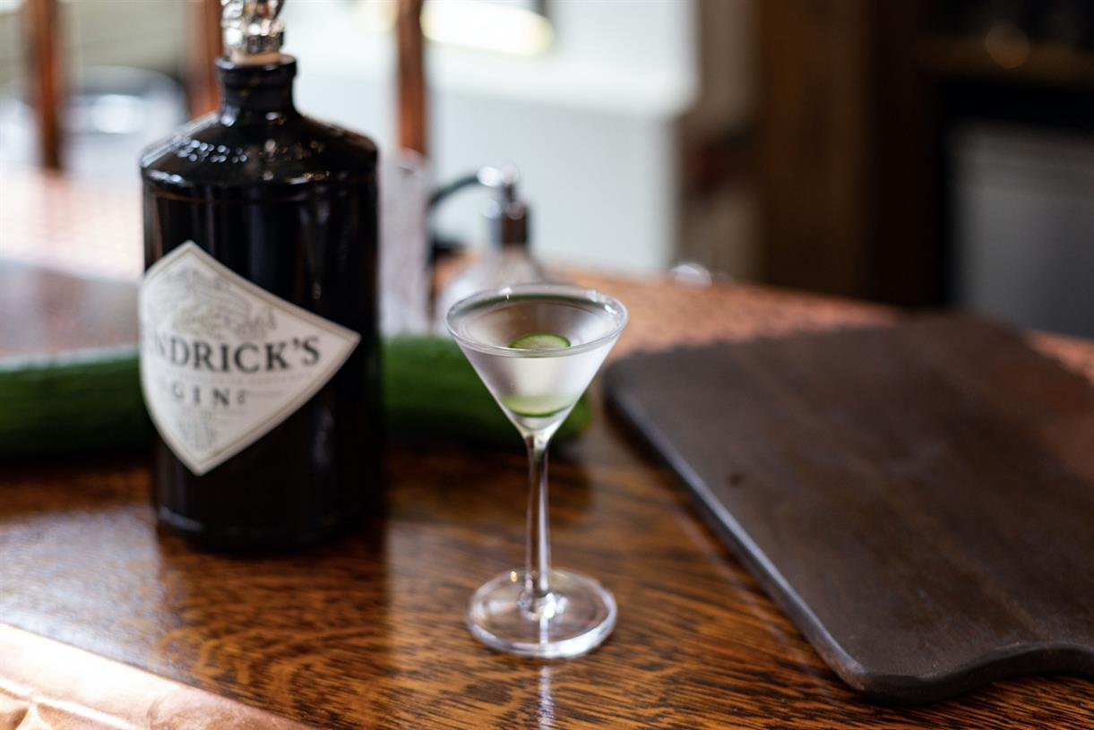 Hendrick's Creates Martini Pop-up Bar With Drinks Inspired By Different Countries photo