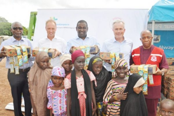 Frieslandcampina Donates Dairy Products To Idp Camp photo