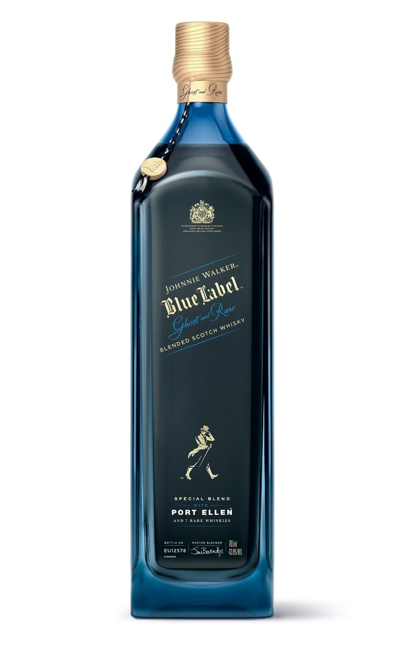 Johnnie Walker Blue Label Celebrates The 'ghosts' Of Whiskies Past With A New Blend From The Fabled port Ellen Distillery photo
