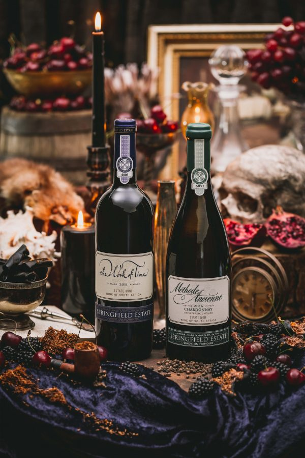 Unveiling the last of the PIWOSA members' exquisite Works of #LiquidArt for CapeWine 2018 – Enter Springfield Estate photo