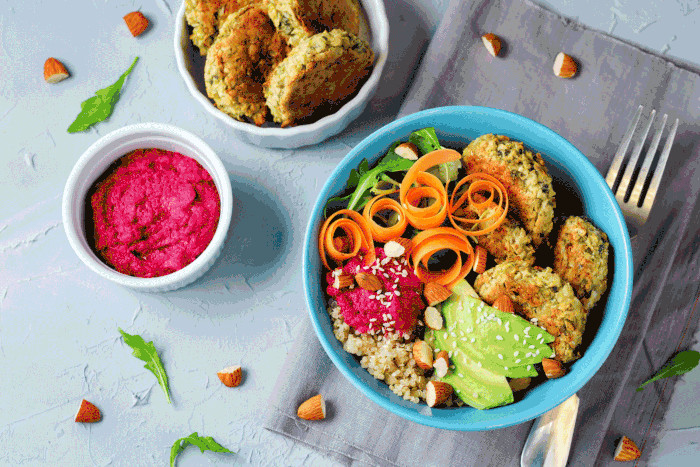 High Protein, Low Effort: Sweet Potato, Sundried Tomato, & Chilli Protein Falafels [recipe] photo