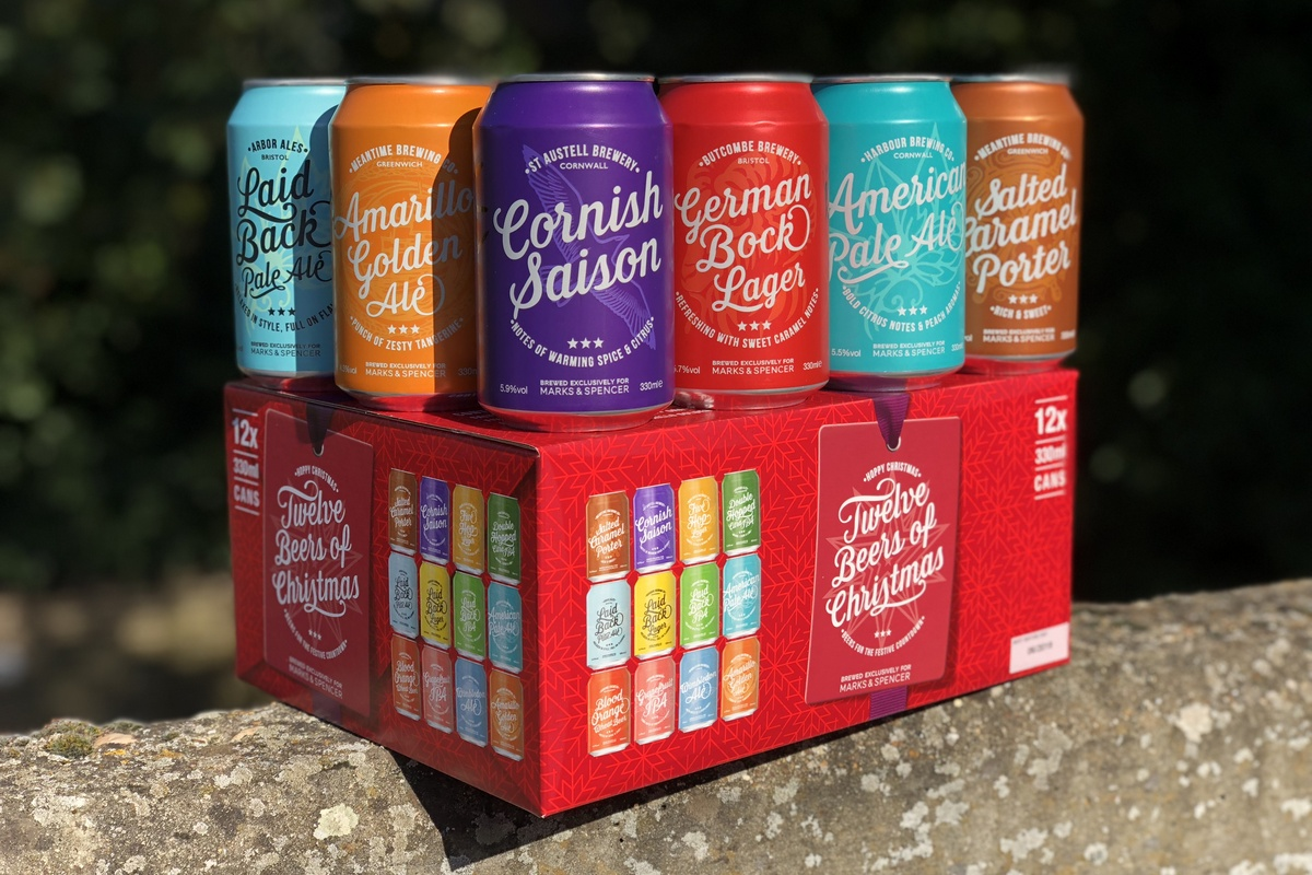 Great British And World Beers Are Coming To M&s ? Beer Today photo