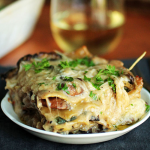 Mushroom and Spinach Lasagna photo