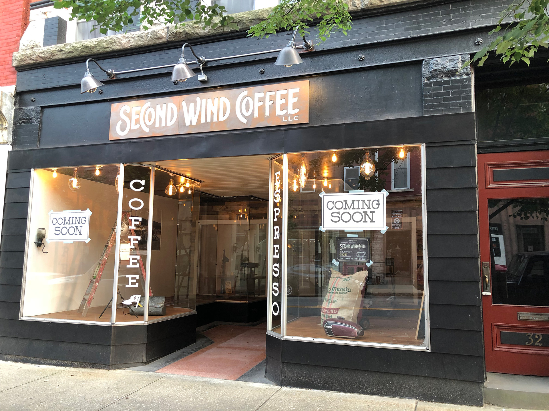 Build-outs Of Summer: Second Wind Coffee In Johnstown, Ny photo