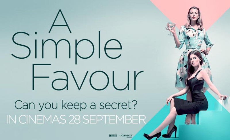 Win A Clemengold Gin & Kindle Hamper With 'a Simple Favour' photo