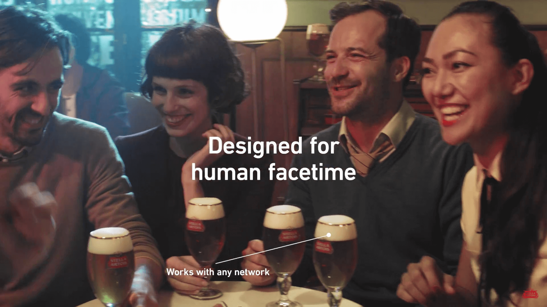 Stella Artois 'ultimate Connected Device' Ad Offers #appleevent Fans Another Option photo