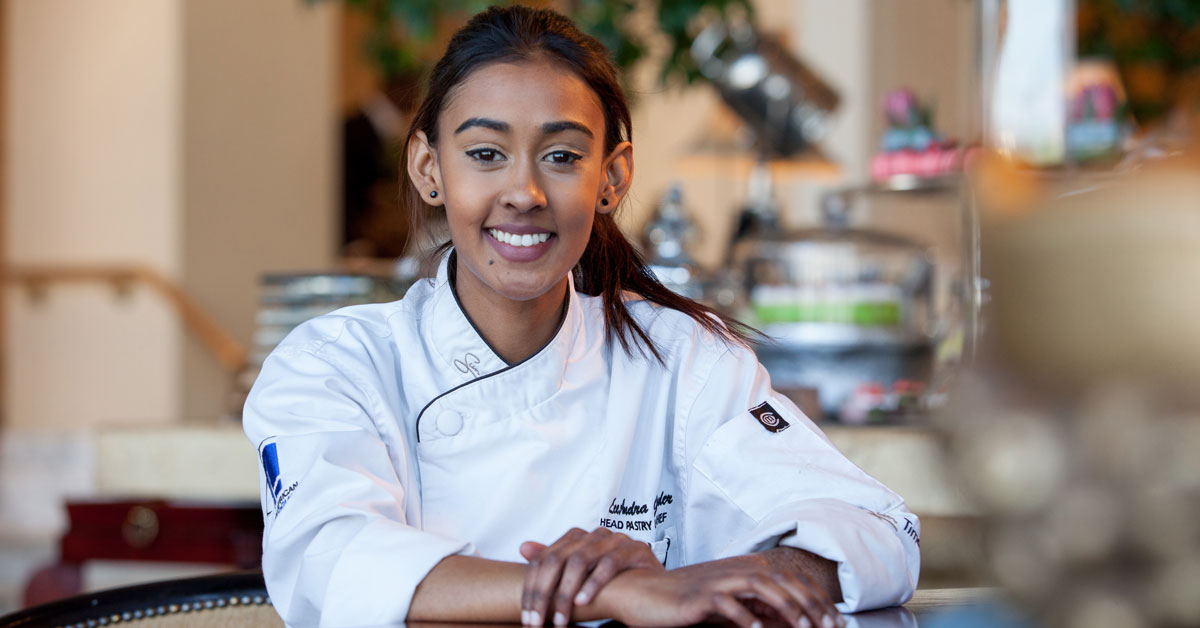 Lee-andra Govender Heads Up The Table Bay's Pastry Kitchen photo