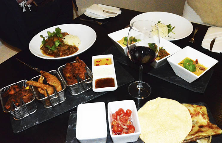 Spice Up Your Thursday With Curry At Benguela Brasserie & Restaurant photo