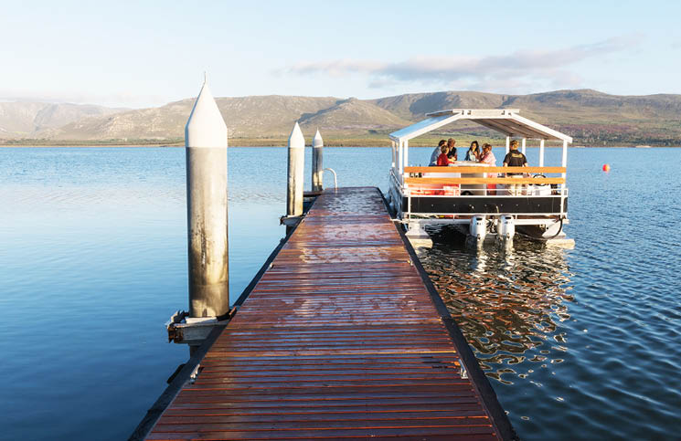 Ahoy! Spring Is Here, So Is Free Pontoon Cruises At Benguela Cove Lagoon Wine Estate photo
