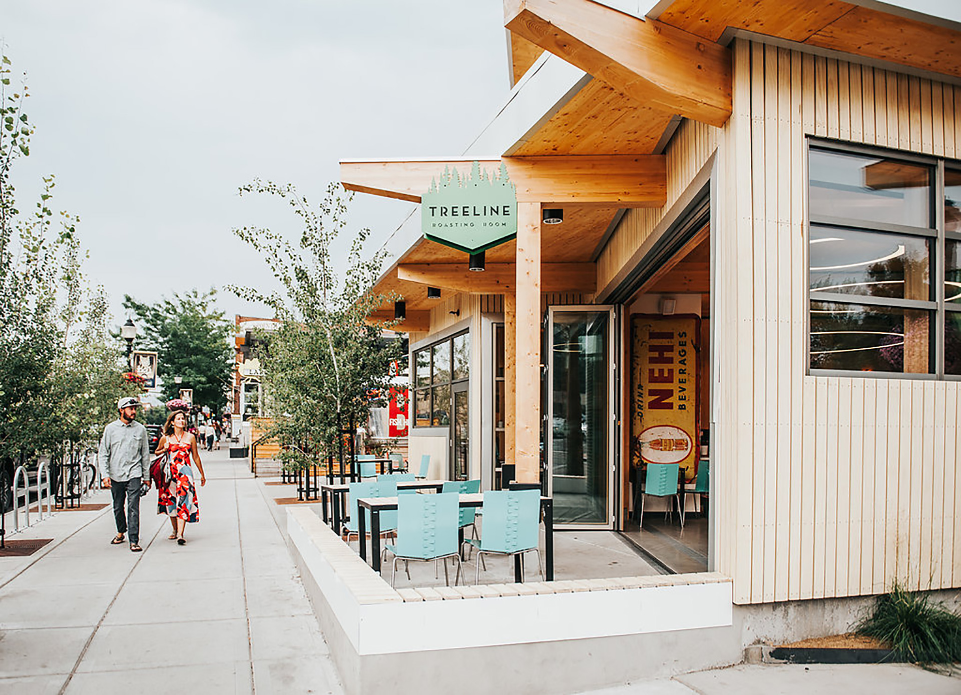 Build-outs Of Summer: Treeline Coffee In Bozeman, Mt photo