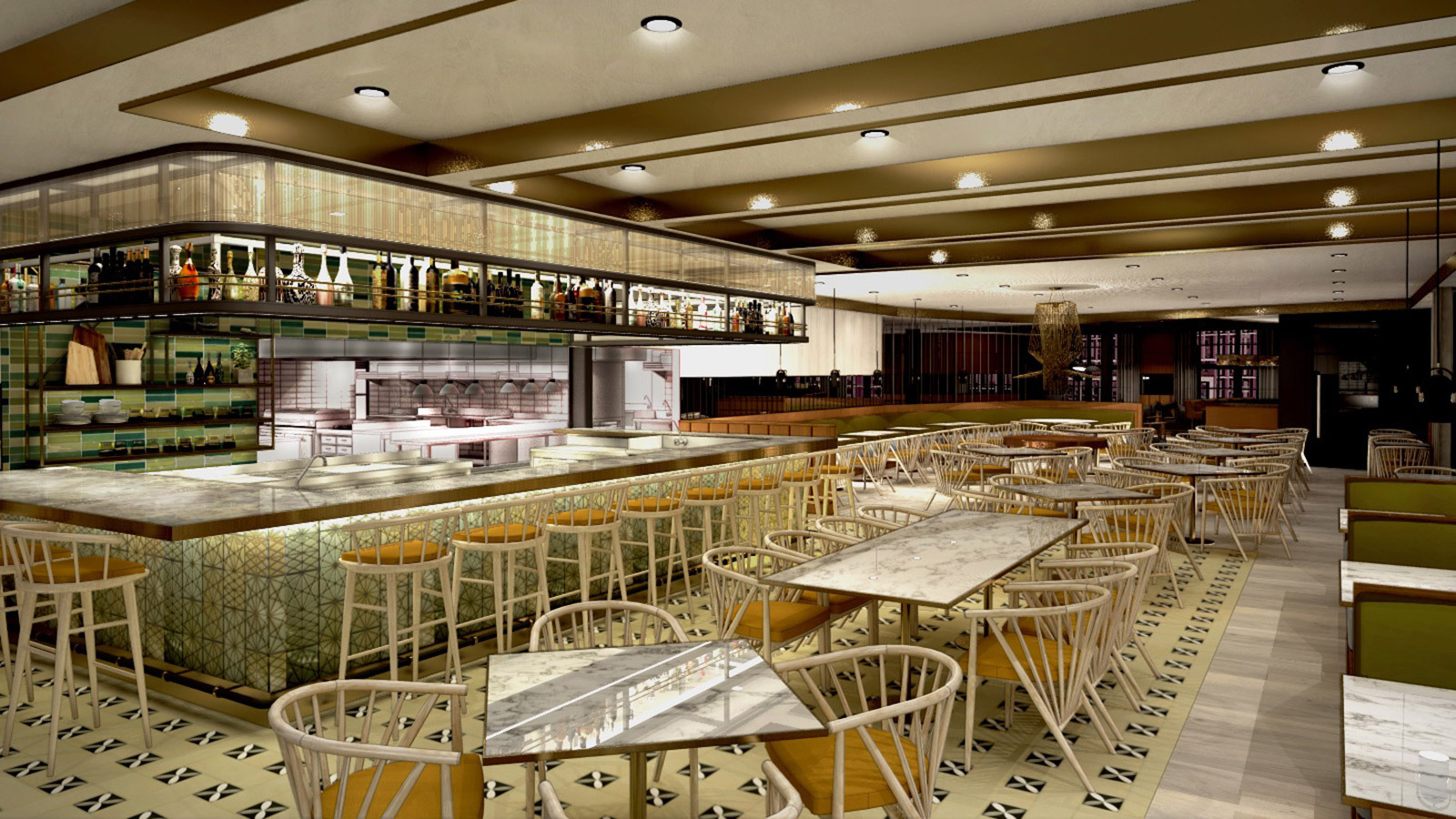 Turning Tables: D.c.'s Masseria Chef Opens Sprawling Italian Concept; New Chef At Galatoire's In New Orleans photo