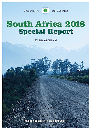 Tim Atkin South Africa Special Report 2018 photo