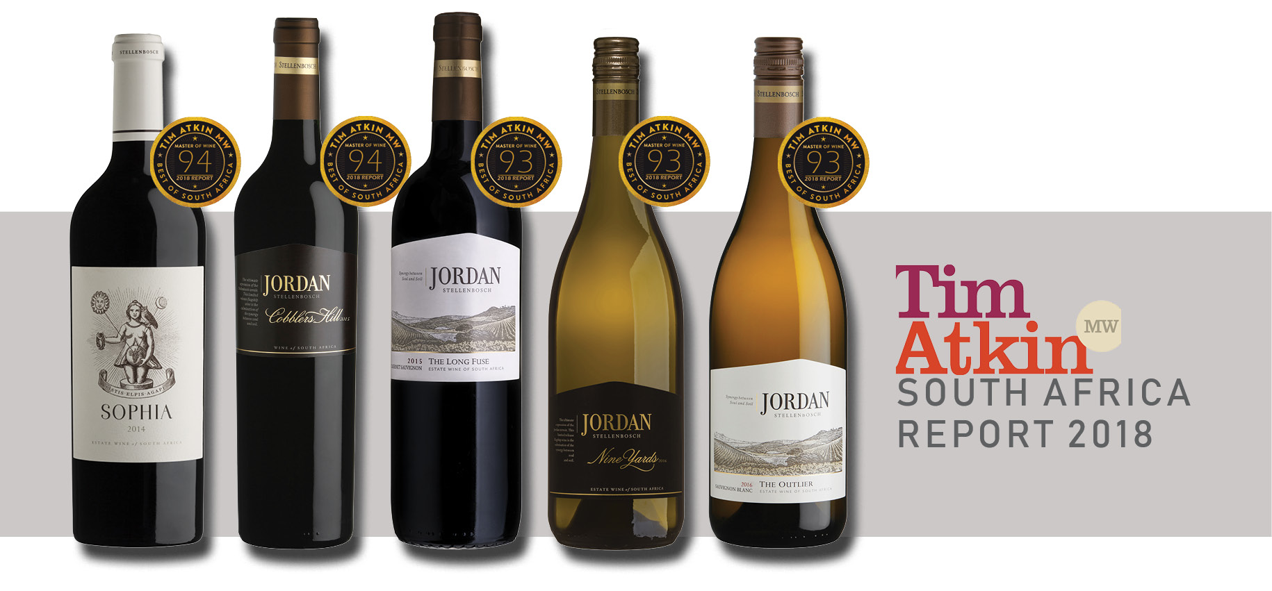 Jordan wines perform well in Tim Atkin and Neal Martin Reports photo