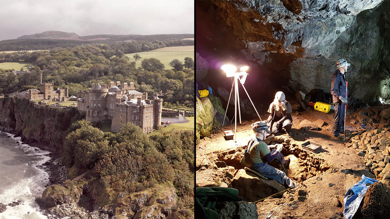 Unfiltered: Wine Smugglers' Lair Found? Hidden Doorway, Bottle Stash Uncovered In Scottish Castle Caves photo