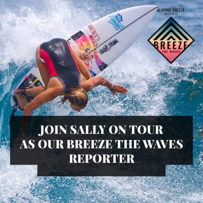 Social Media/blogger Wanted To Work With Almond Breeze & Pro Surfer Sally Fitzgibbons photo
