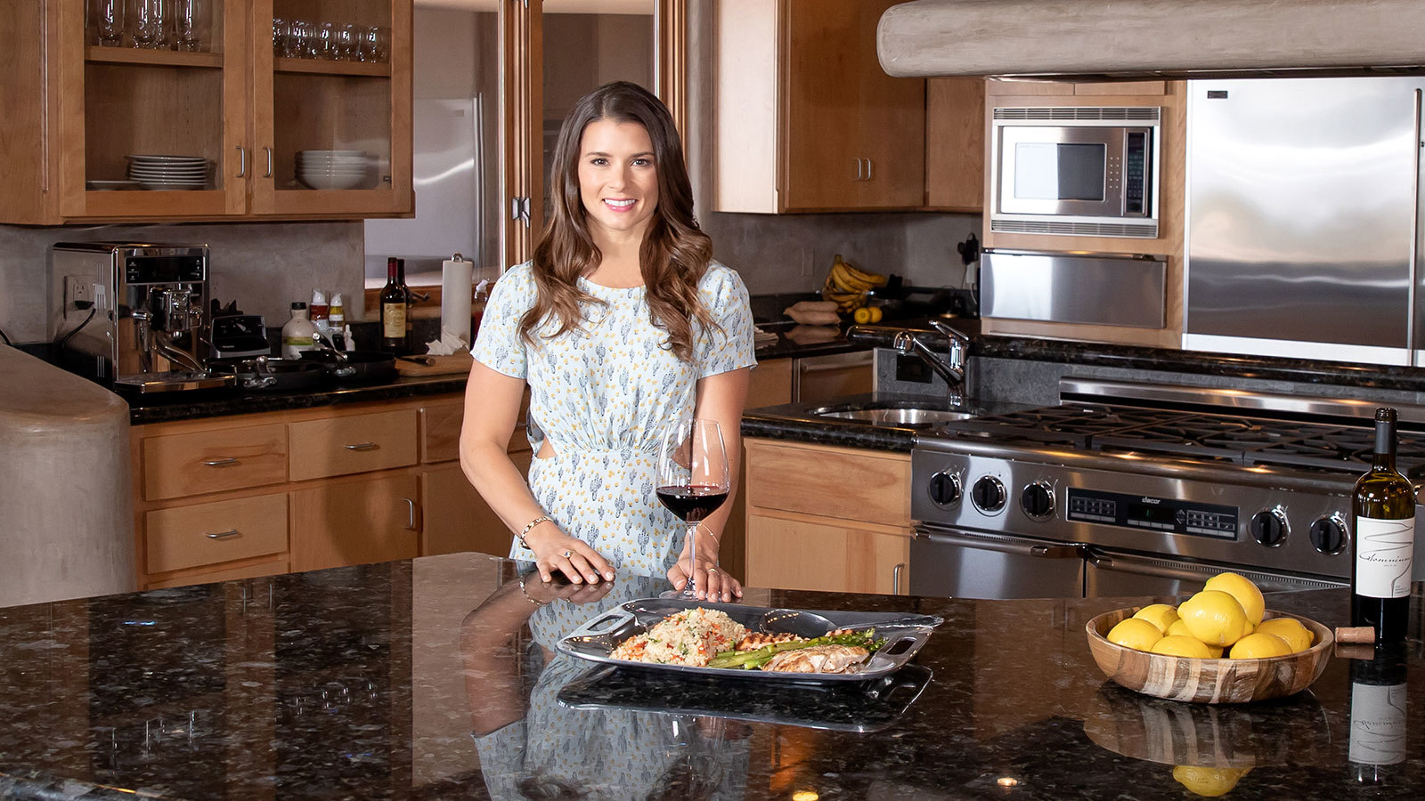 Wine & Design: Racing Home With Danica Patrick photo