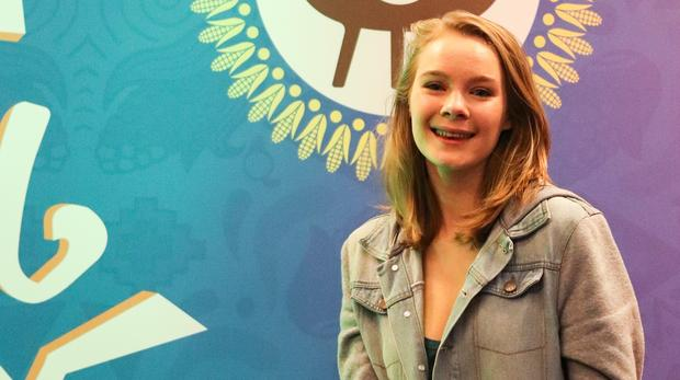 Hannah Smith Wins Number One Mageu Art & Soul Competition. photo