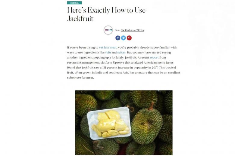 Famed Us Chef Martha Stewart's Lifestyle Site Confuses Durian For Jackfruit, photo