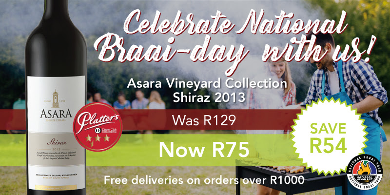 Save up to 50% on GETWINE's Braai-day wine specials photo
