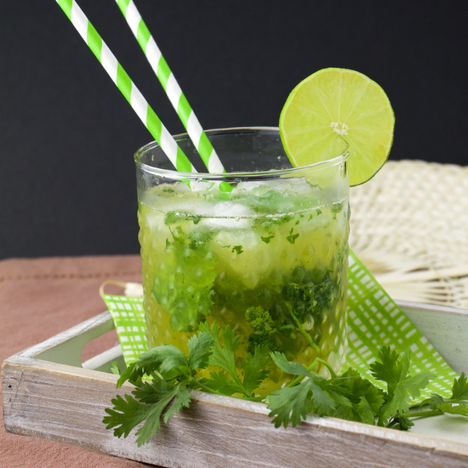 cilantro mojito 7 21 Drinks You Should Try When You Turn 21