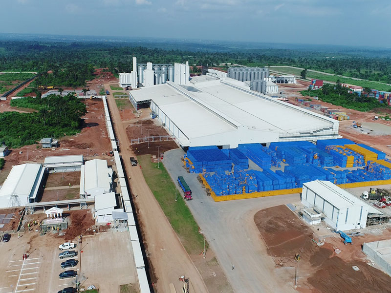 Day Nigeria's Biggest Brewery Berthed In Sagamu photo