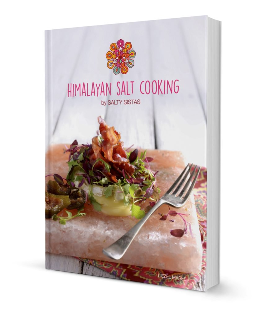 Serve Up A Pink Salt Feast Courtesy Of The New Himalayan Salt Cooking Book photo