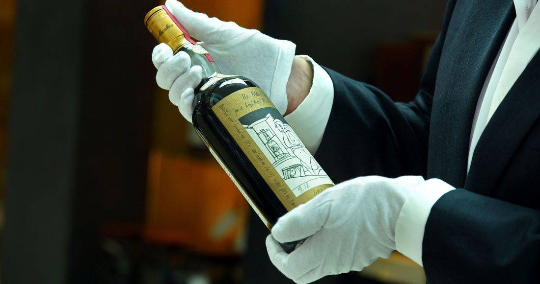 The Macallan Valerio Adami Whisky Will Go On Sale For Over $1,000,000 photo