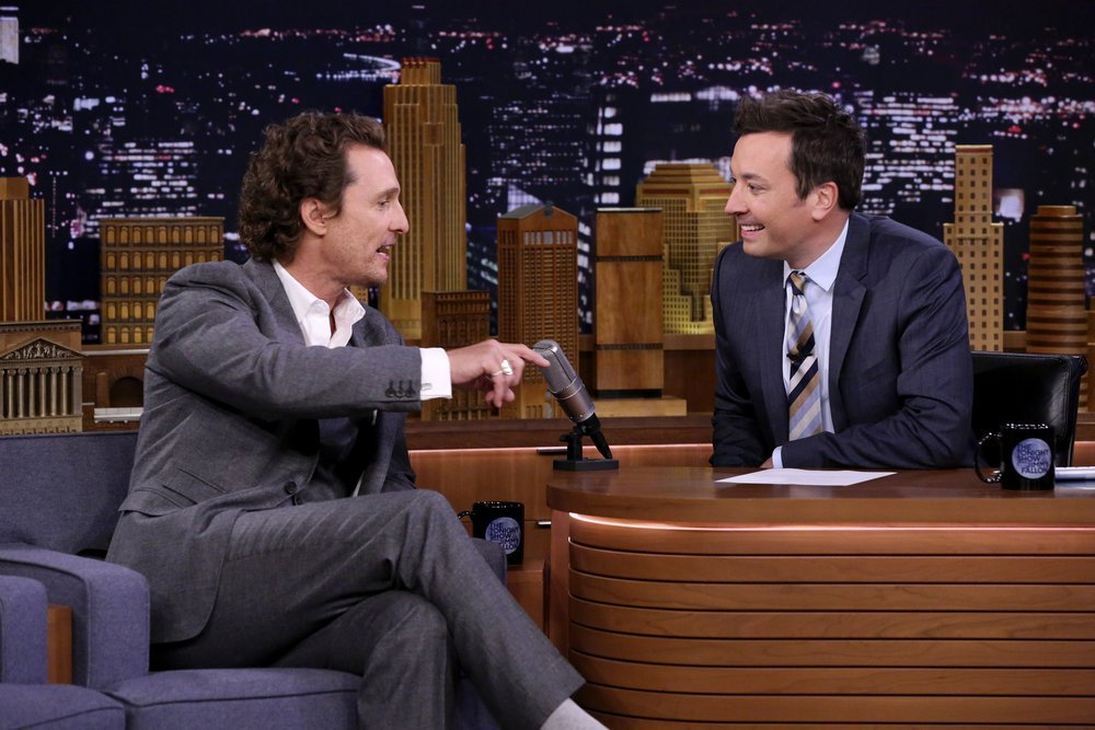 Matthew Mcconaughey On How He Got A Job Tasting Wild Turkey Bourbon photo