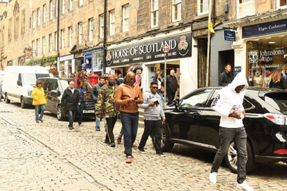 How Rmd, Don Jazzy Explored Scotland For The Perfect Blend photo