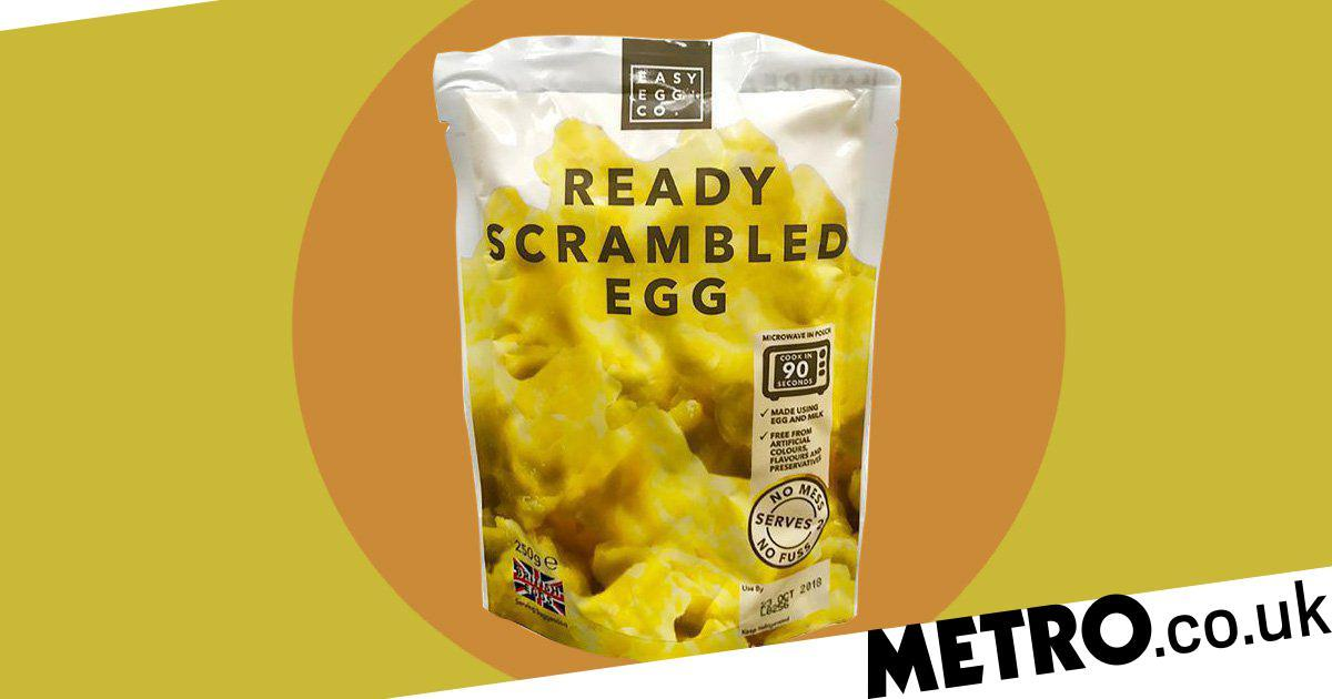Iceland Is Selling Ready-made Scrambled Eggs In Microwaveable Pouches photo