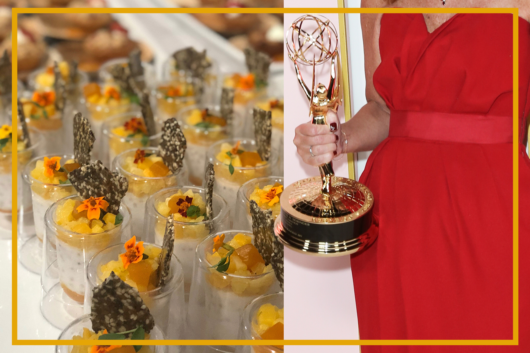 This Is What It's Like To Eat At Emmy Night's Biggest Party — And Go Behind The Scenes In The Kitchen photo