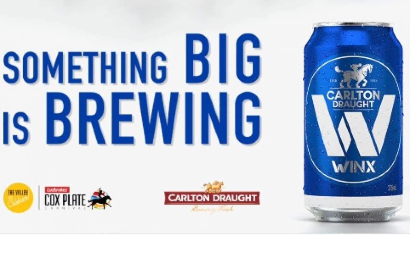 Limited Edition Winx Cans To Commemorate Fourth Cox Plate Tilt photo