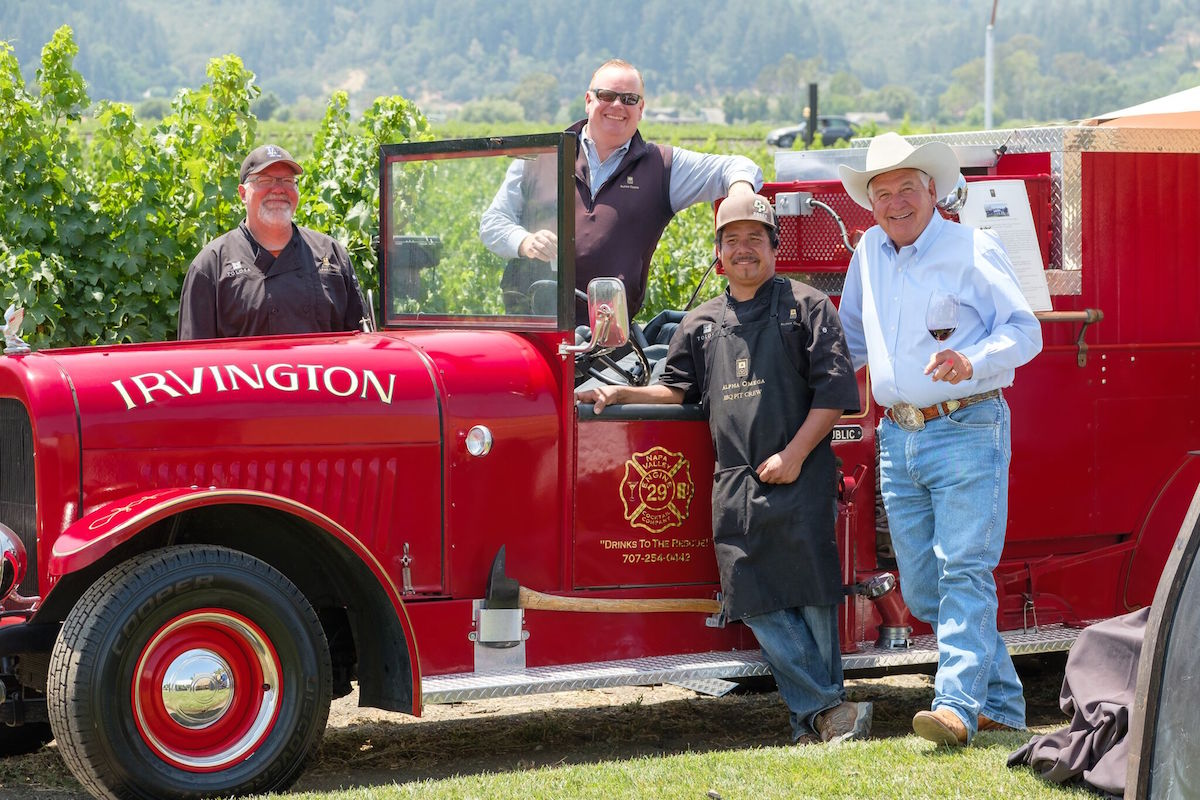 Alpha Omega Winery Goes Big For Wildfire Relief photo