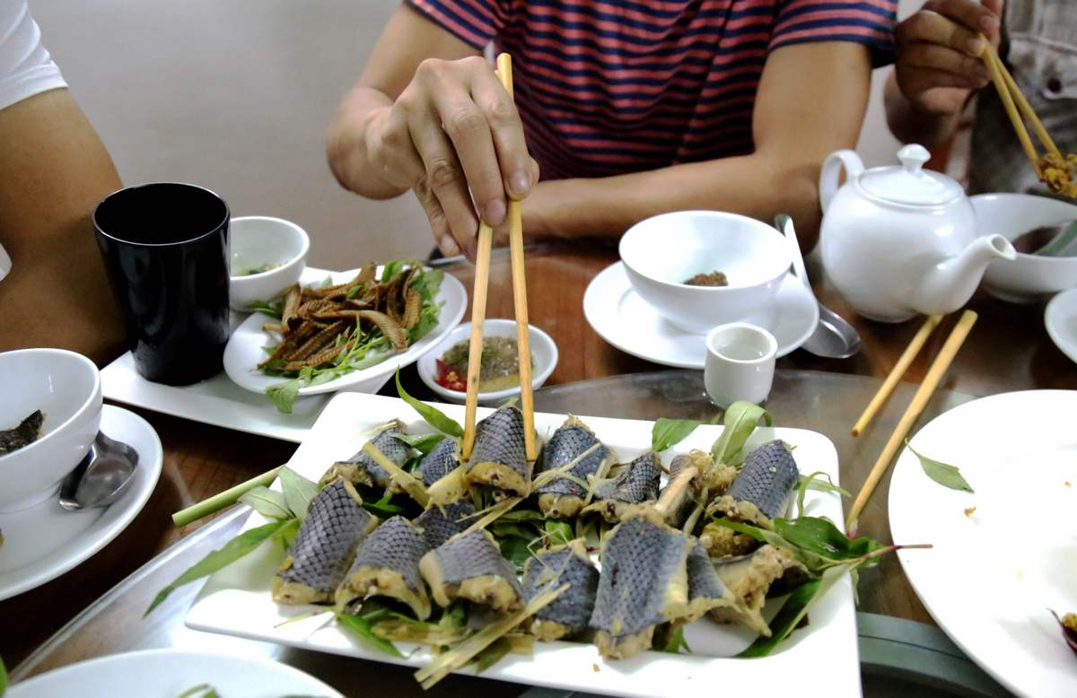 Snakes On A Plate: Vietnam's Coiled Cuisine, photo