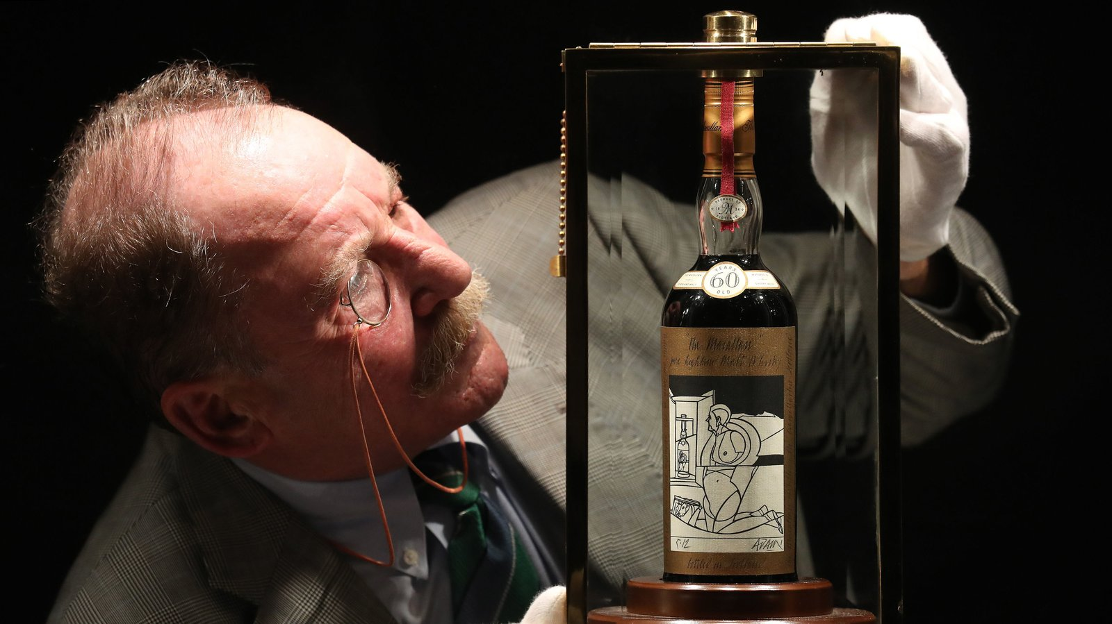 'holy Grail Of Whisky' Fetches £848,750 At Auction photo