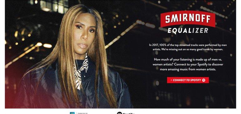 Smirnoff's Spotify Api Earned 630m Impressions photo