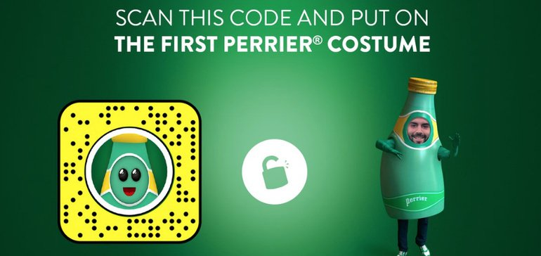 Perrier, Sodastream Promote Alternative Halloween Costume Ideas photo