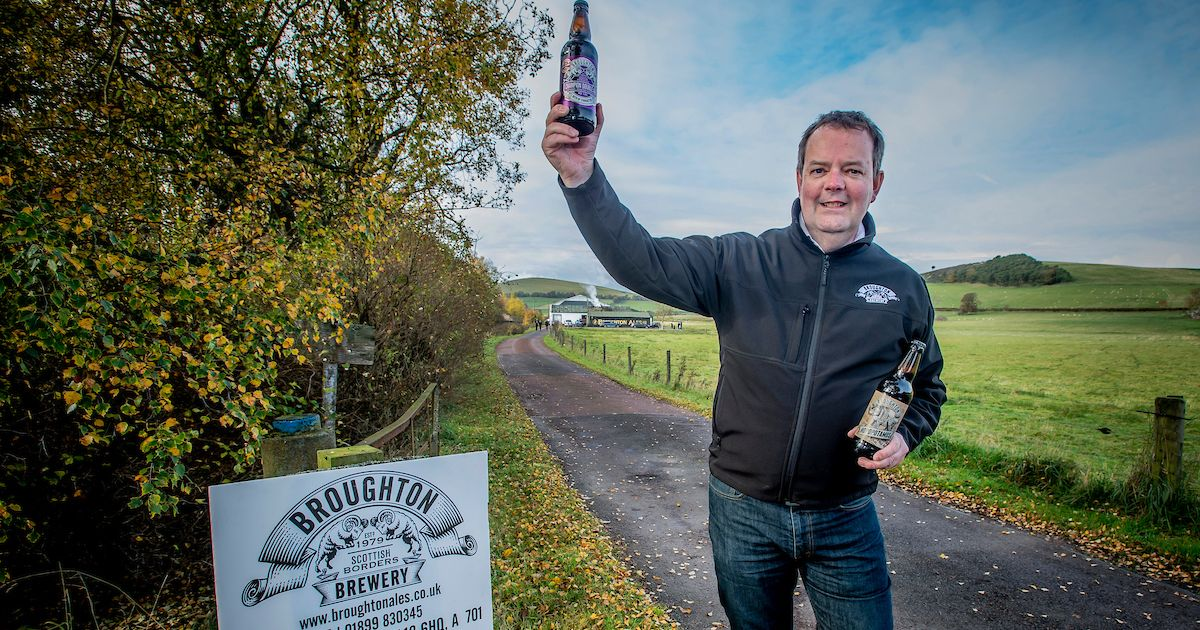 We're Brewing Up A Storm With Aldi, Says Broughton Ales photo