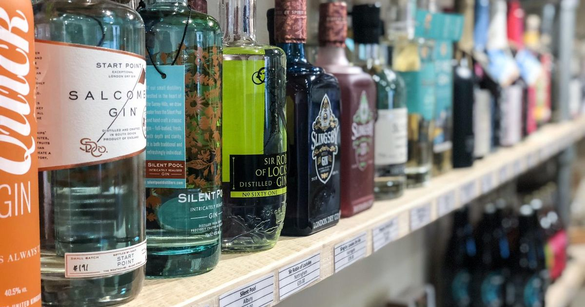 A Gorgeous New Gin Shop Has Opened On The Barbican photo