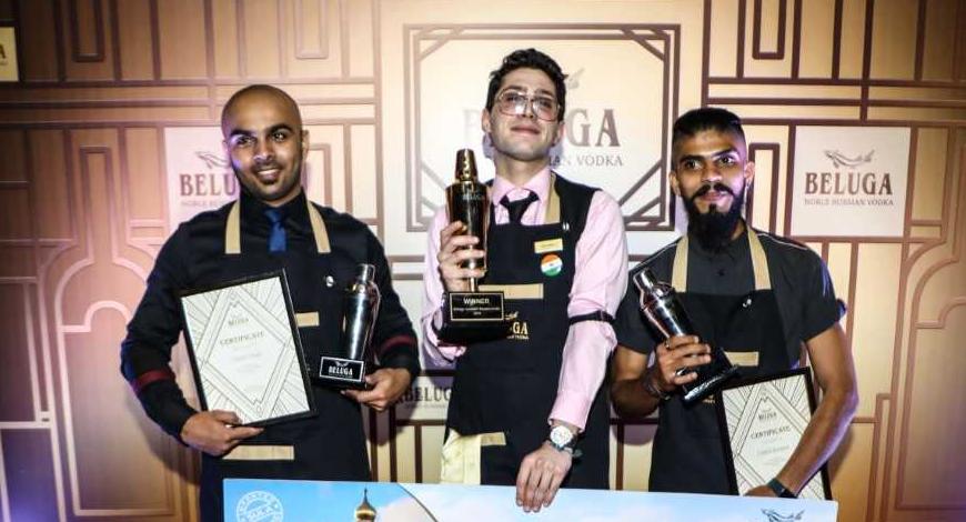 Cincin?s Adamo Balsamo Bags Title At Maiden Beluga Cocktail Masters India 2018 photo