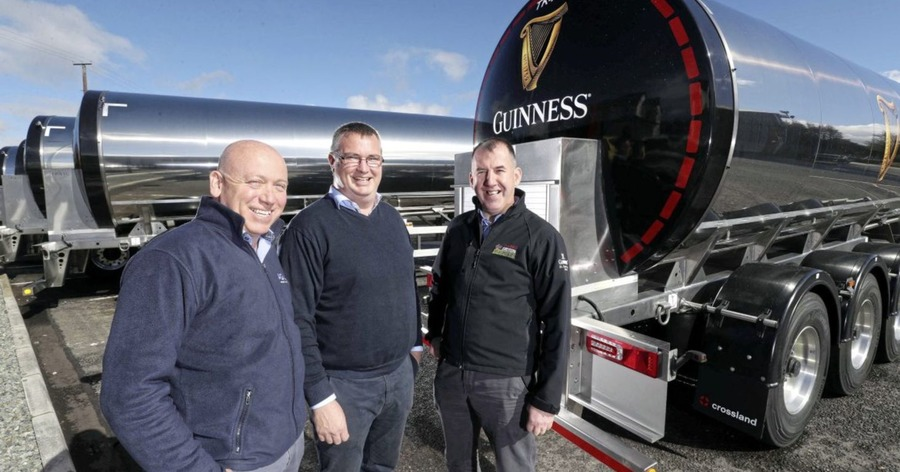 Co Derry Manufacturer, Crossland Wins Lucrative Guinness Tanker Order photo