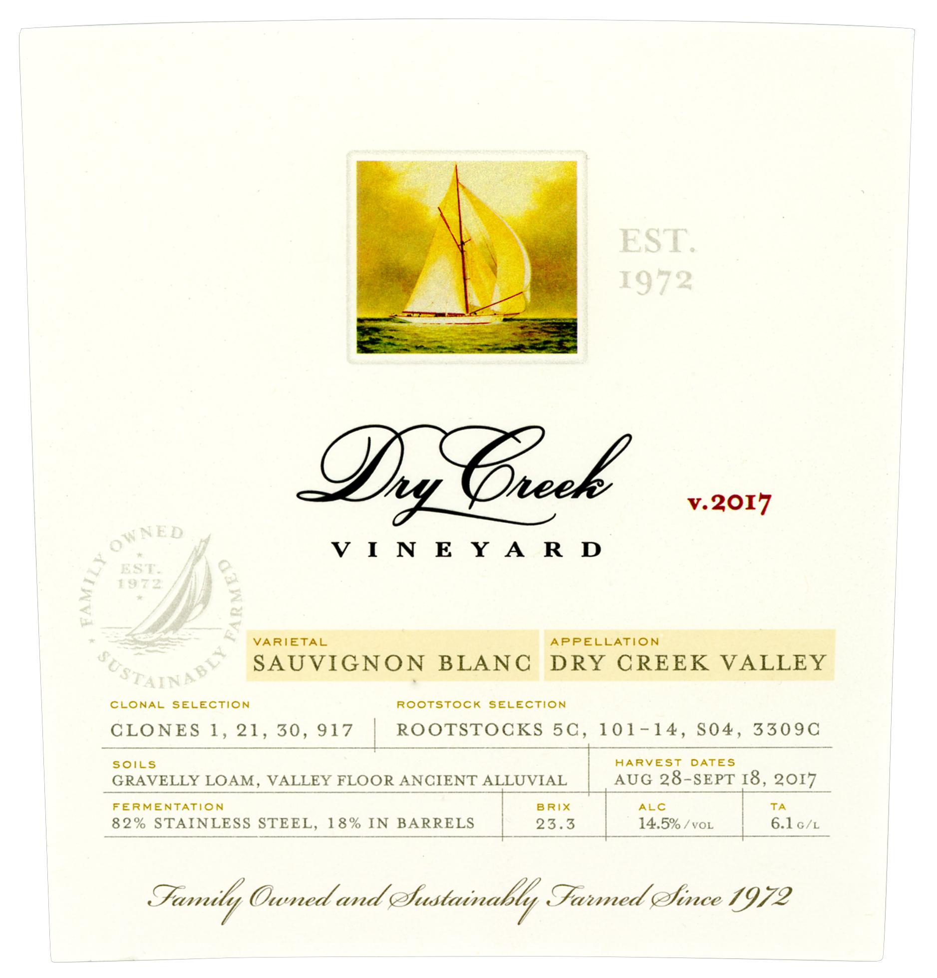 Dry Creek Vineyard Sauvignon Blanc photo