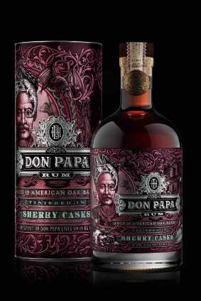 Bleeding Heart Rum Co's Don Papa Rum Sherry Casks Finish photo